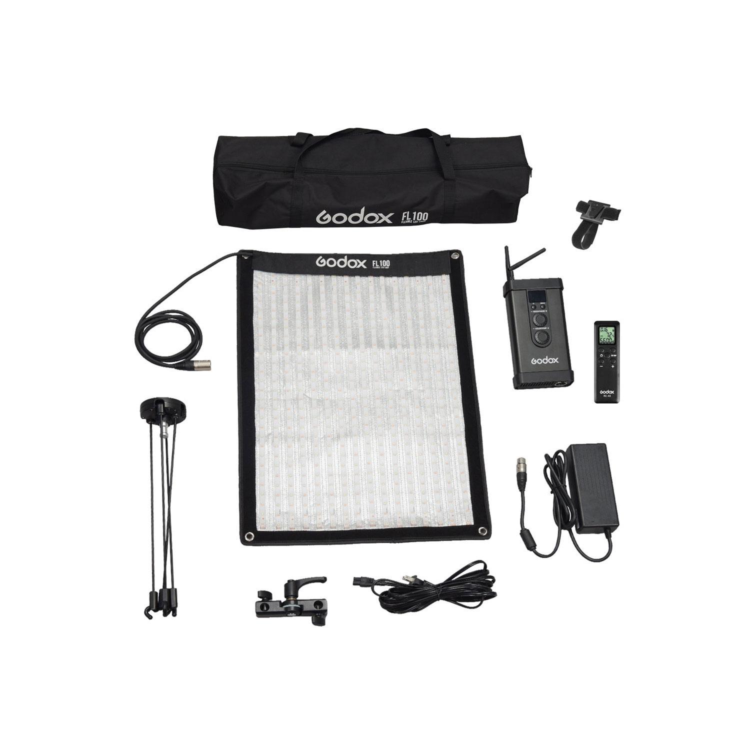نور LED منعطف مدل Godox FL150S سایز 40x60