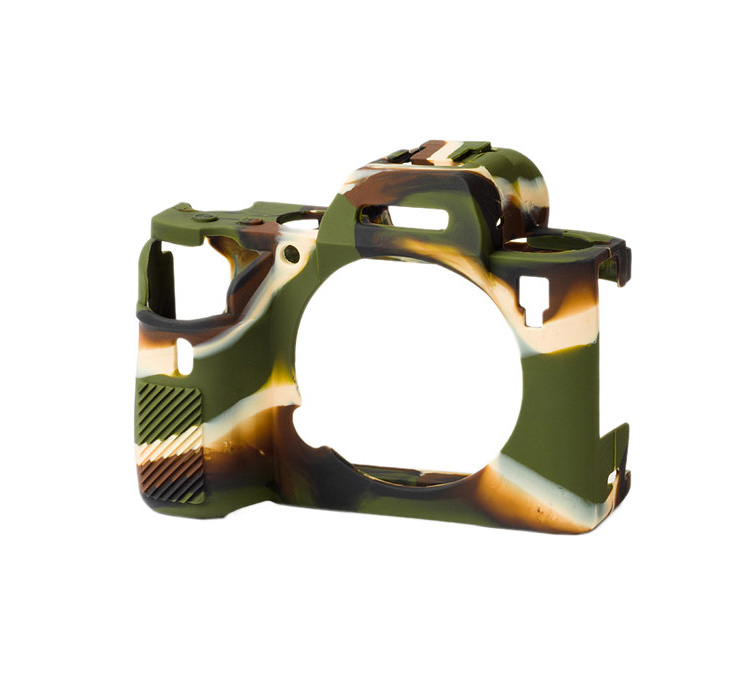 کاور سیلیکونی دوربین سونی Alpha a7R III (سبز)