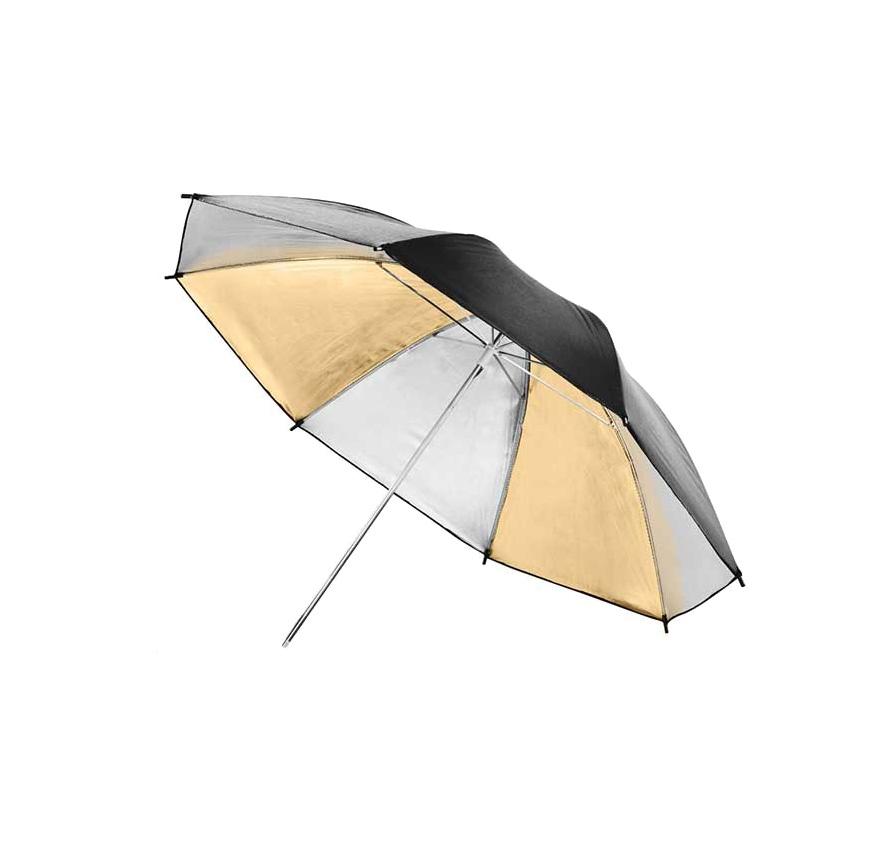 چتر داخل طلایی - نقرهای 102cm