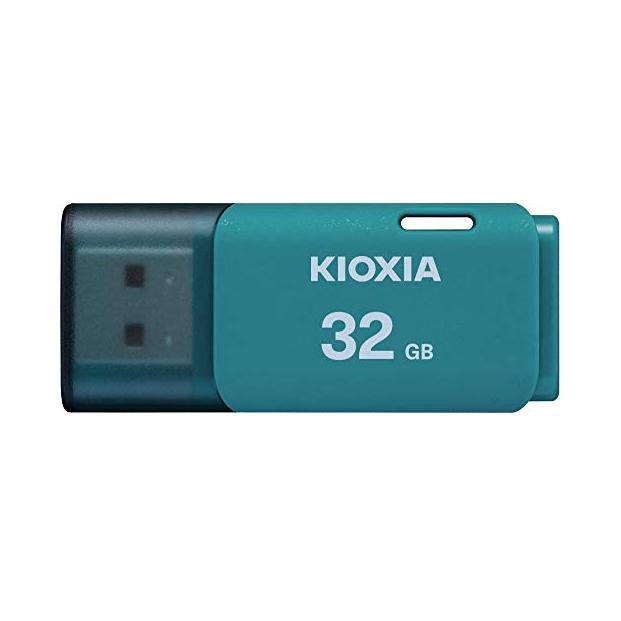 فلش مموری کیوکسیا مدل U202 ظرفیت 32 گیگابایت (آبی)