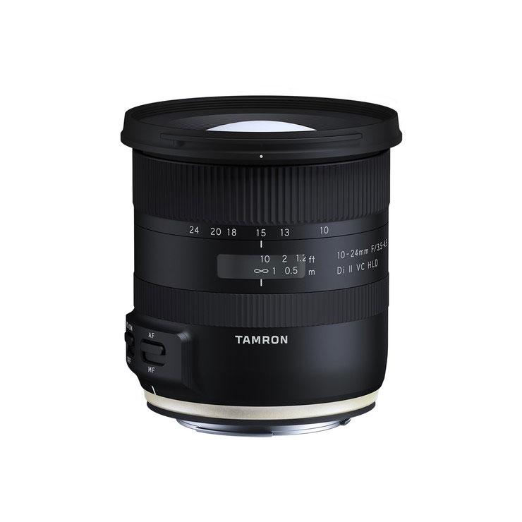 لنز تامرون Tamron 10-24mm f/3.5-4.5 Di II VC HLD برای کانن