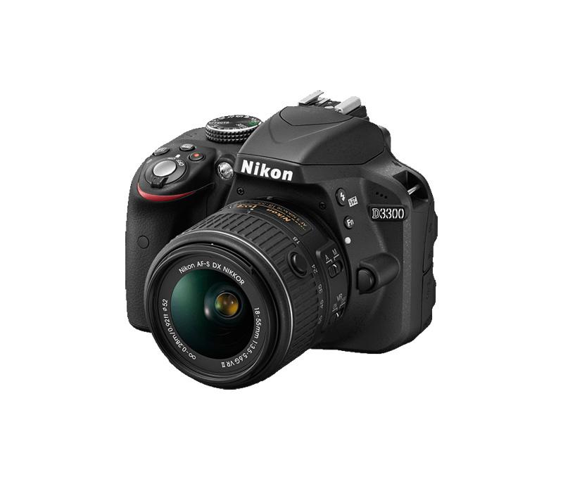 دوربین نیکون D3300 +18-55mm (دست دوم)