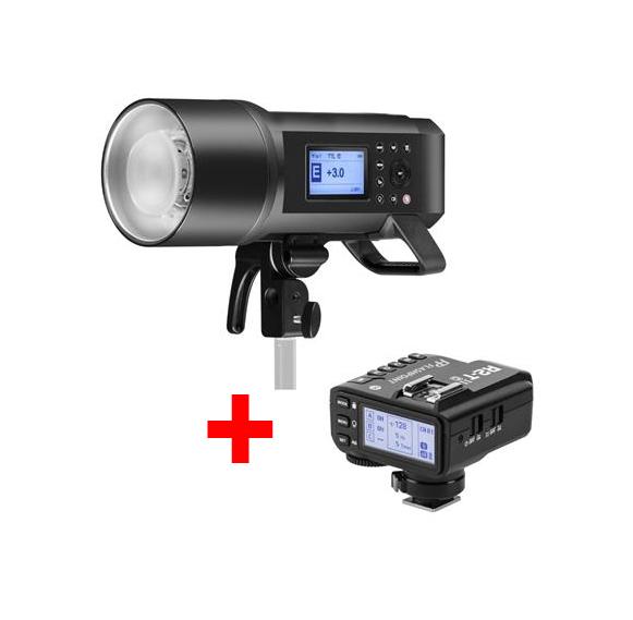 فلاش پرتابل گودوکس Godox AD600Pro به همراه تریگر X2