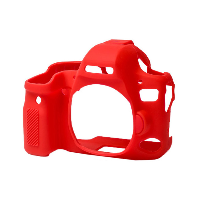 کاور سیلیکونی دوربین کانن EOS 6D (قرمز)