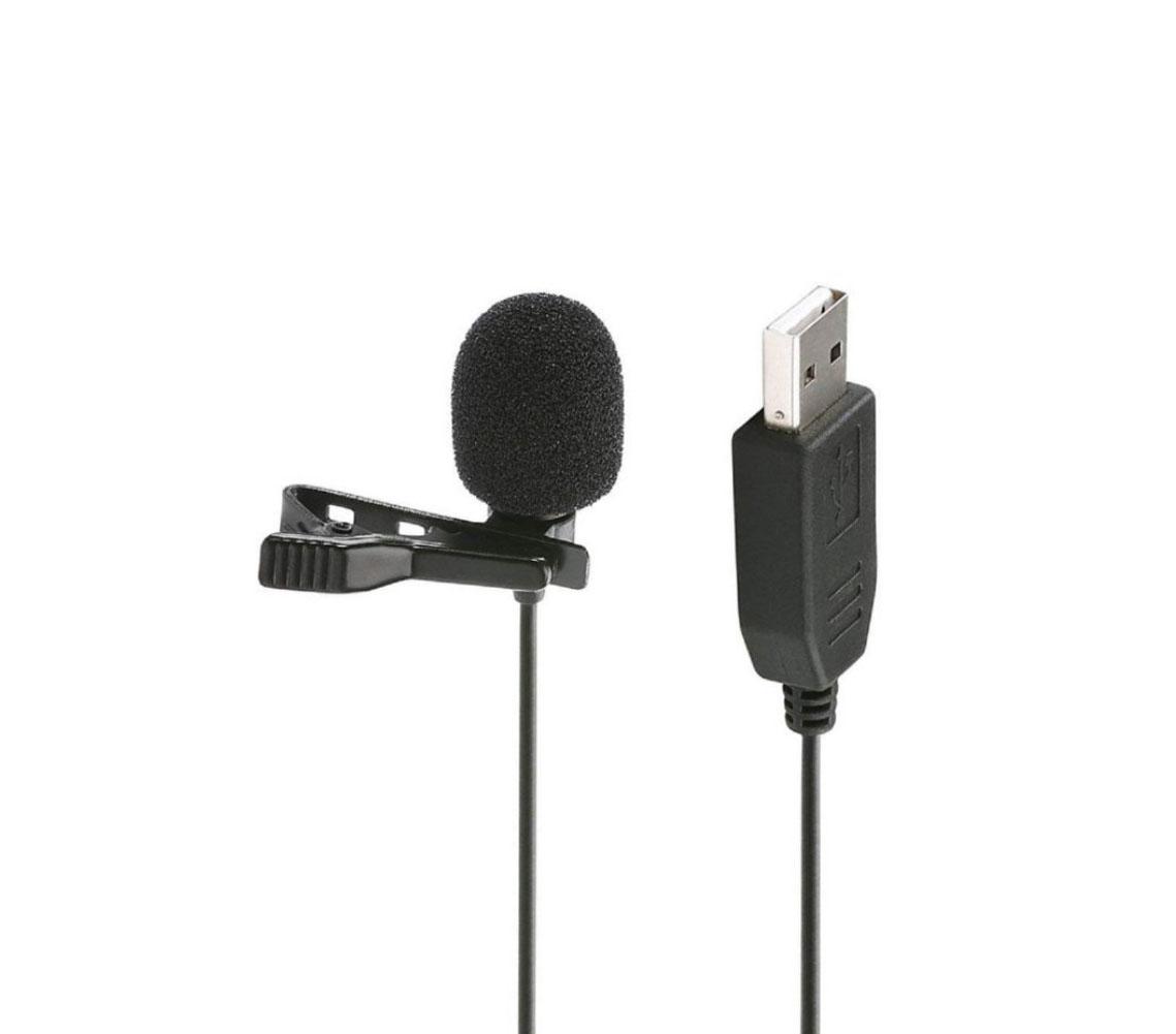 میکروفن یقهای USB مدل SR-ULM5