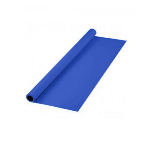 پرده آبی سایز 2x3 لوله پلاستیکی (نمدی)