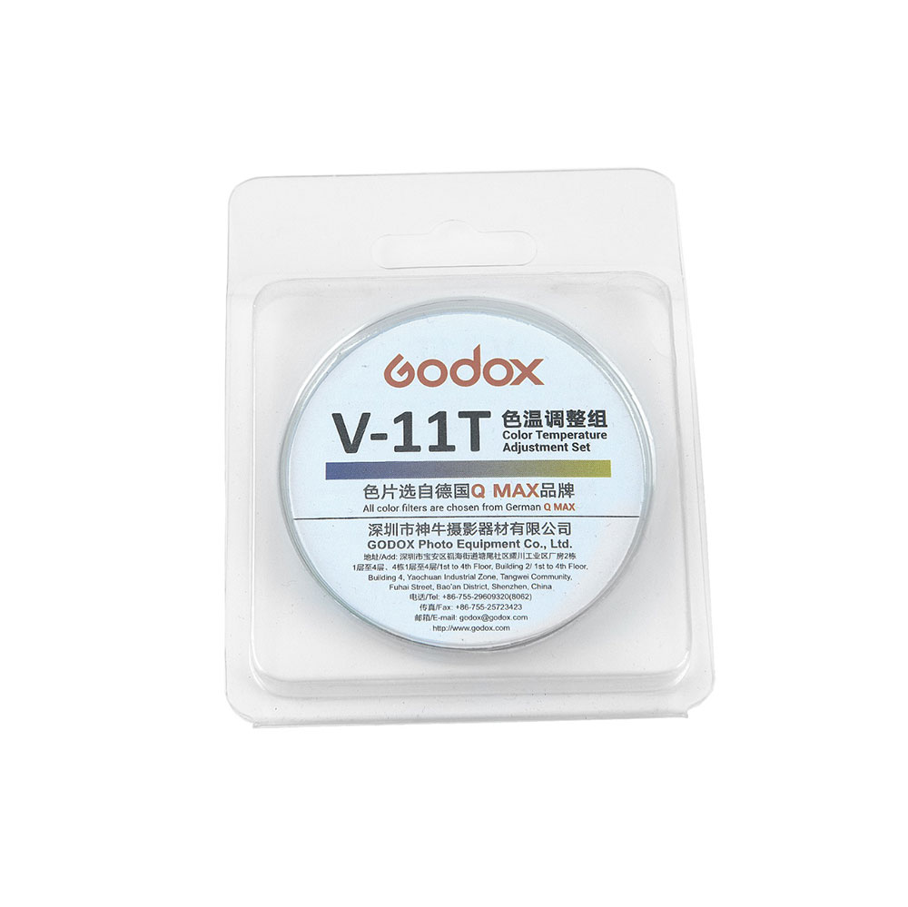 کیت ژلهای رنگی مدل Godox V-11T