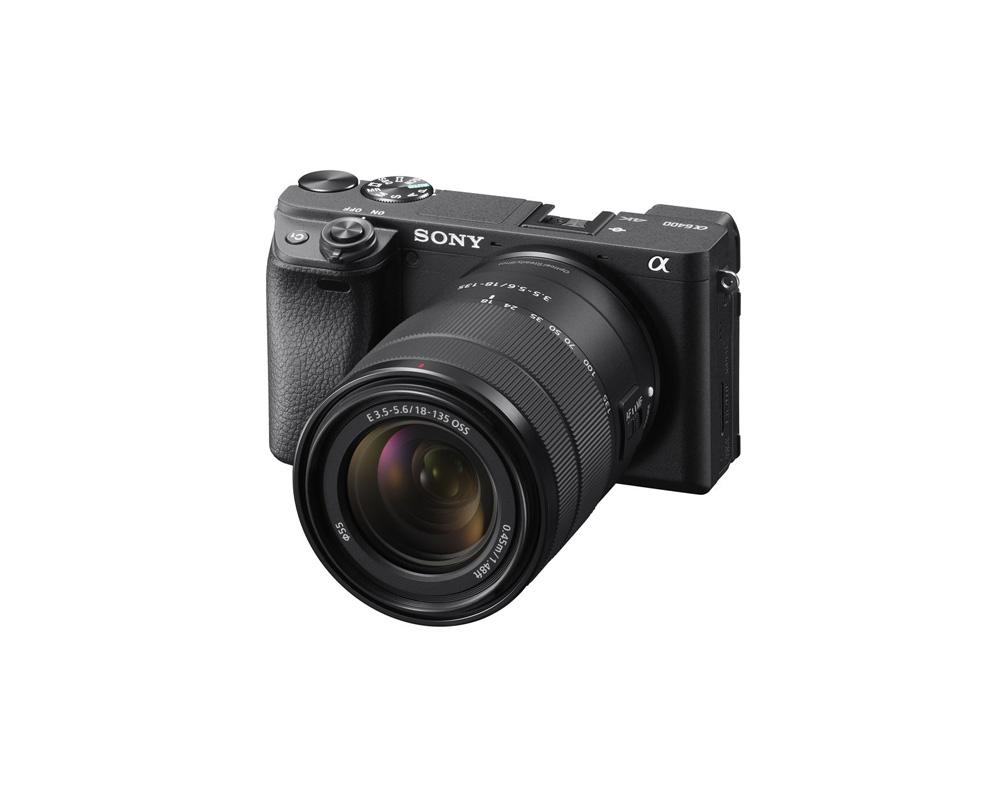 دوربین SONY Alpha A6400 + 18-135mm