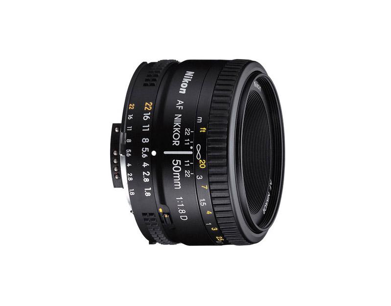 لنز نیکون AF 50mm f/1.8 D (دست دوم)
