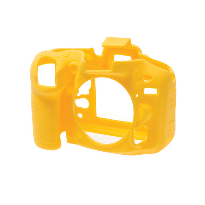 کاور سیلیکونی دوربین Nikon D7200 (زرد)