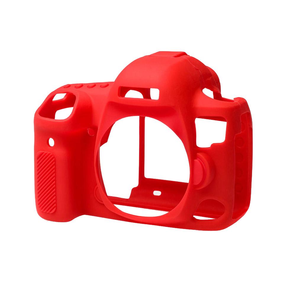 کاور سیلیکونی دوربین کانن EOS 5D Mark IV (قرمز)