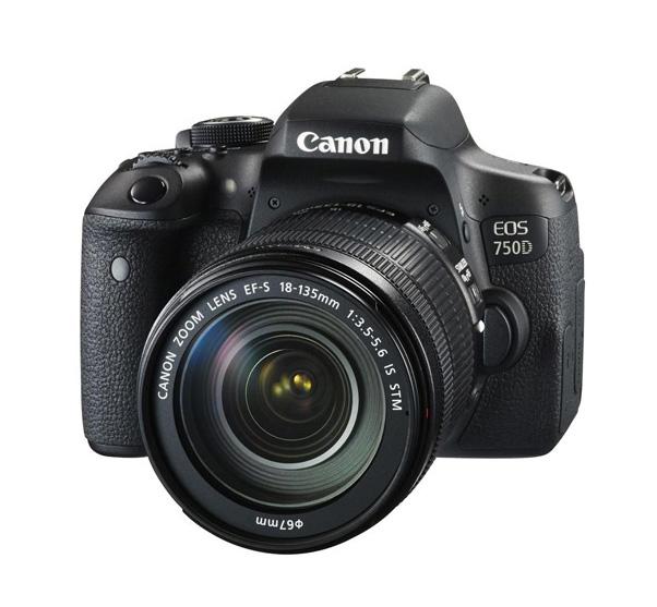 دوربین کانن EOS 750D + 18-135 mm IS STM