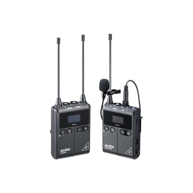 میکروفن بی سیم گودکس Godox WMicS1 Kit 1