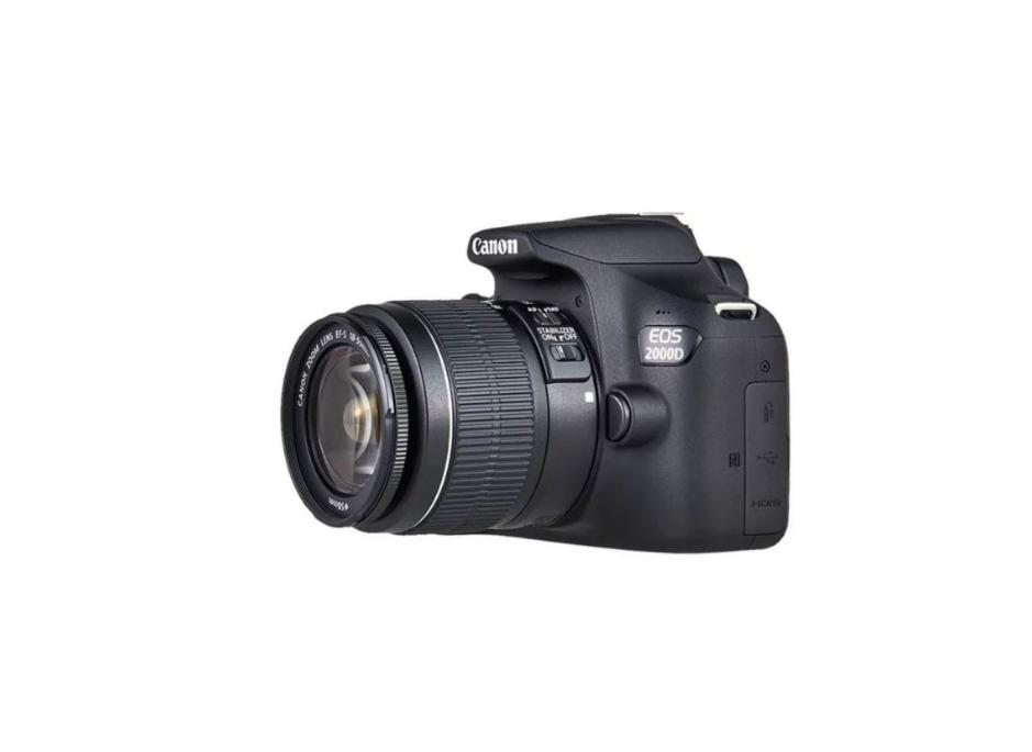 دوربین کانن EOS 2000D + 18-55mm DC IS II  (دست دوم)
