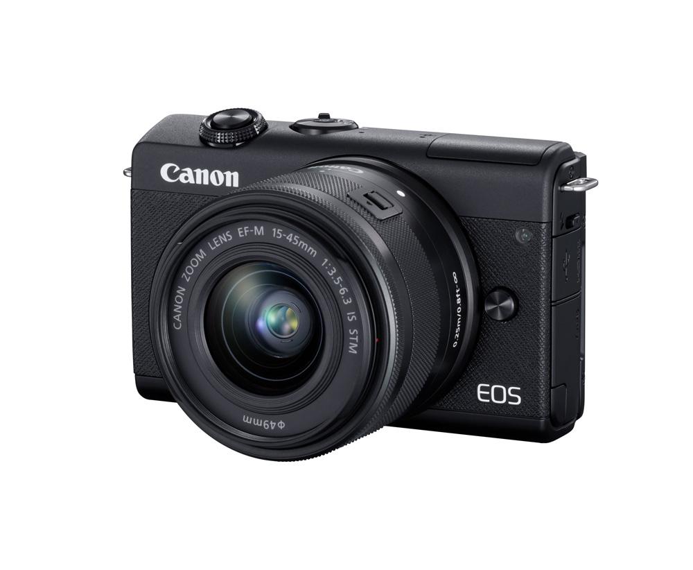 دوربین بدون آینه کانن EOS M200 + 15-45mm