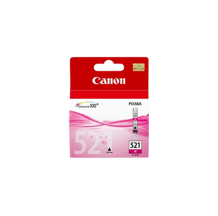 کارتریج جوهر افشان قرمز Canon CLI-521M Magenta