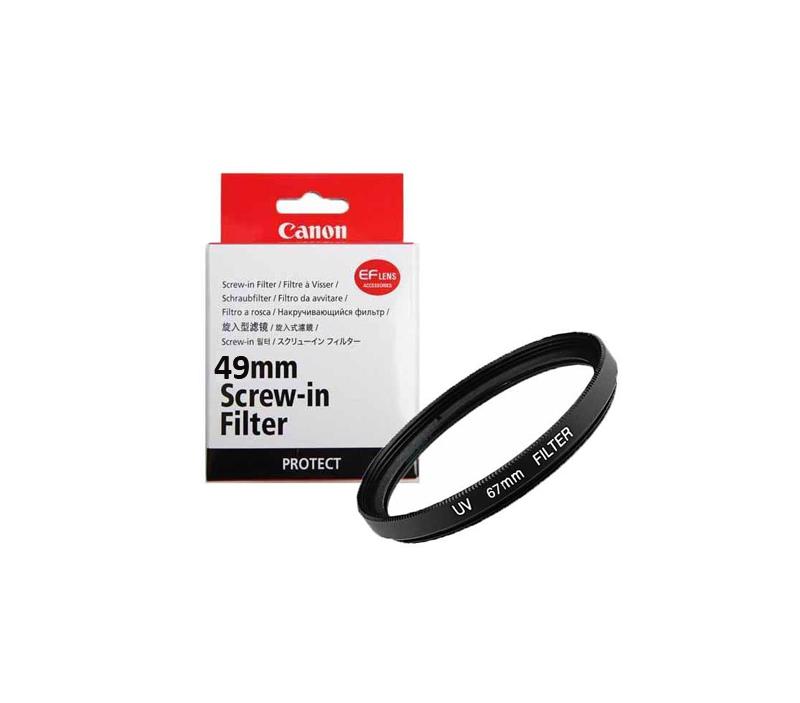 فیلتر محافظ canon 49mm