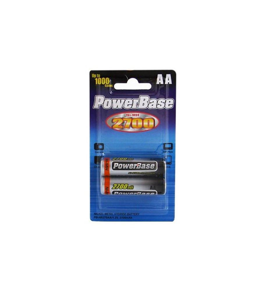 باتری قلمی قابل شارژ پاوربیس بسته 2 عددی