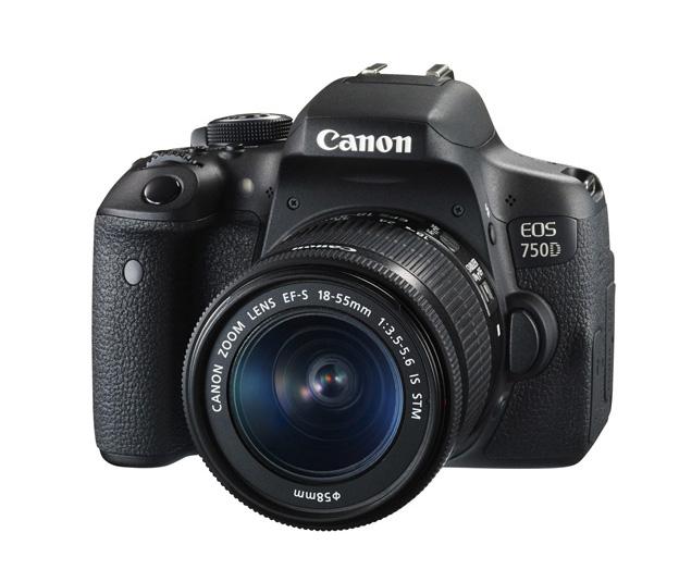 دوربین کانن EOS 750D + 18-55mm IS STM (ژاپن)