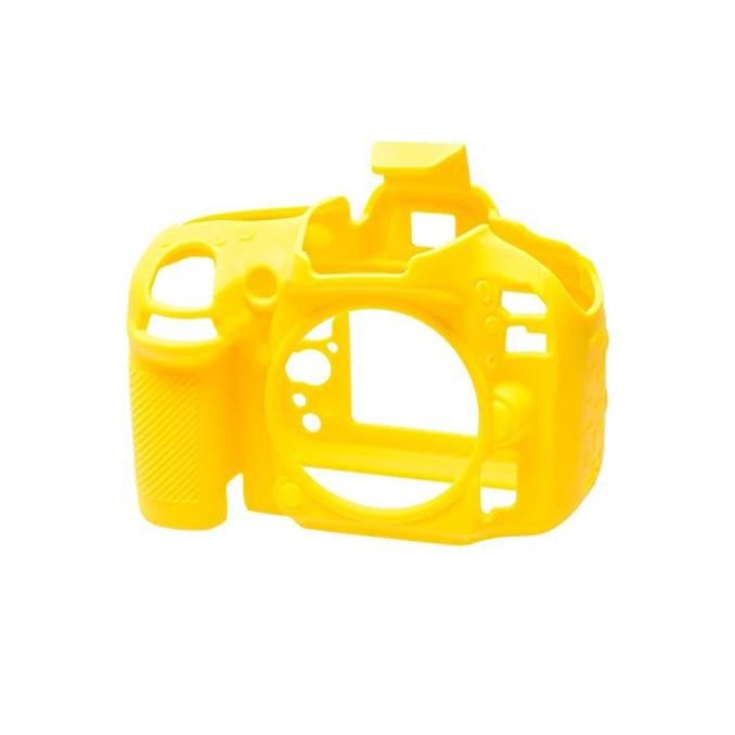 کاور سیلیکونی دوربین Nikon D5500 (زرد)
