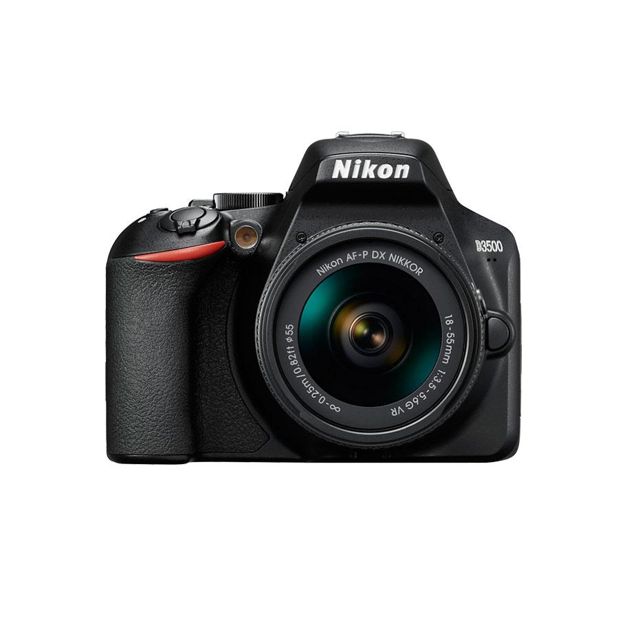 دوربین نیکون D3500 + AF-P 18-55mm VR (دست دوم)