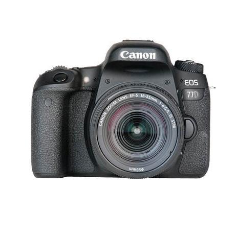 بدنه دوربین کانن EOS 77D به همراه لنز EF-S 18-55mm (دست دوم)