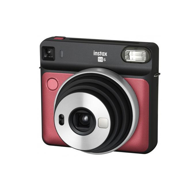 دوربین چاپ سریع دیجیتال فوجی Instax SQ6 (قرمز)