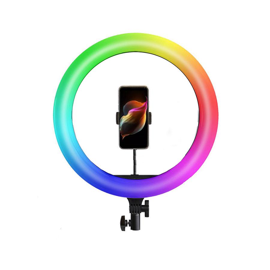 رينگ لايت RGB مدل MJ36 (سایز 14 اینچ)