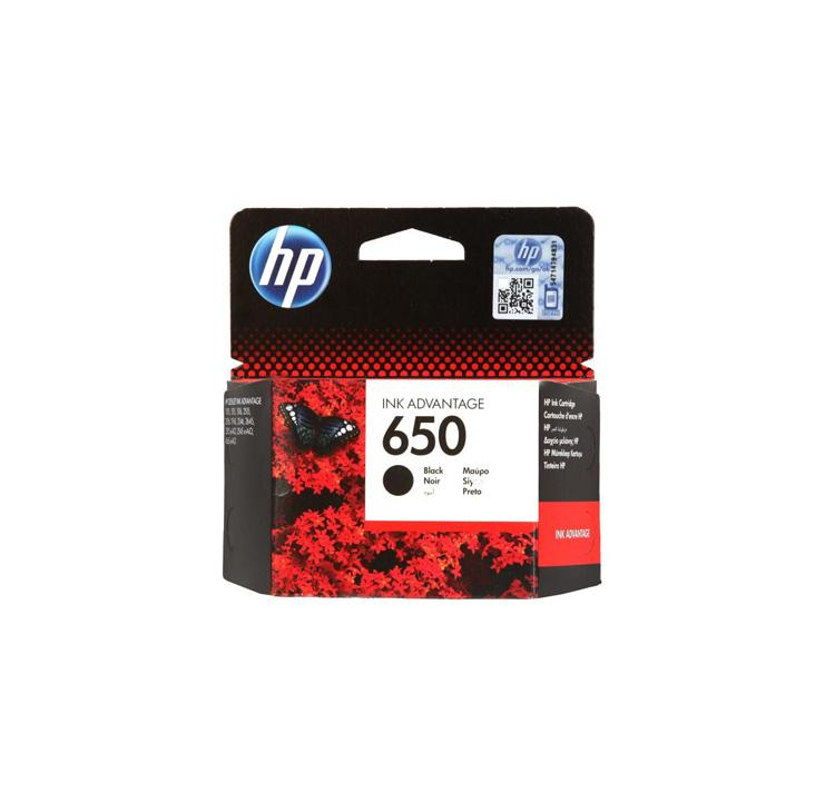 کارتریج جوهرافشان اچ پی مشکی HP 650 Black