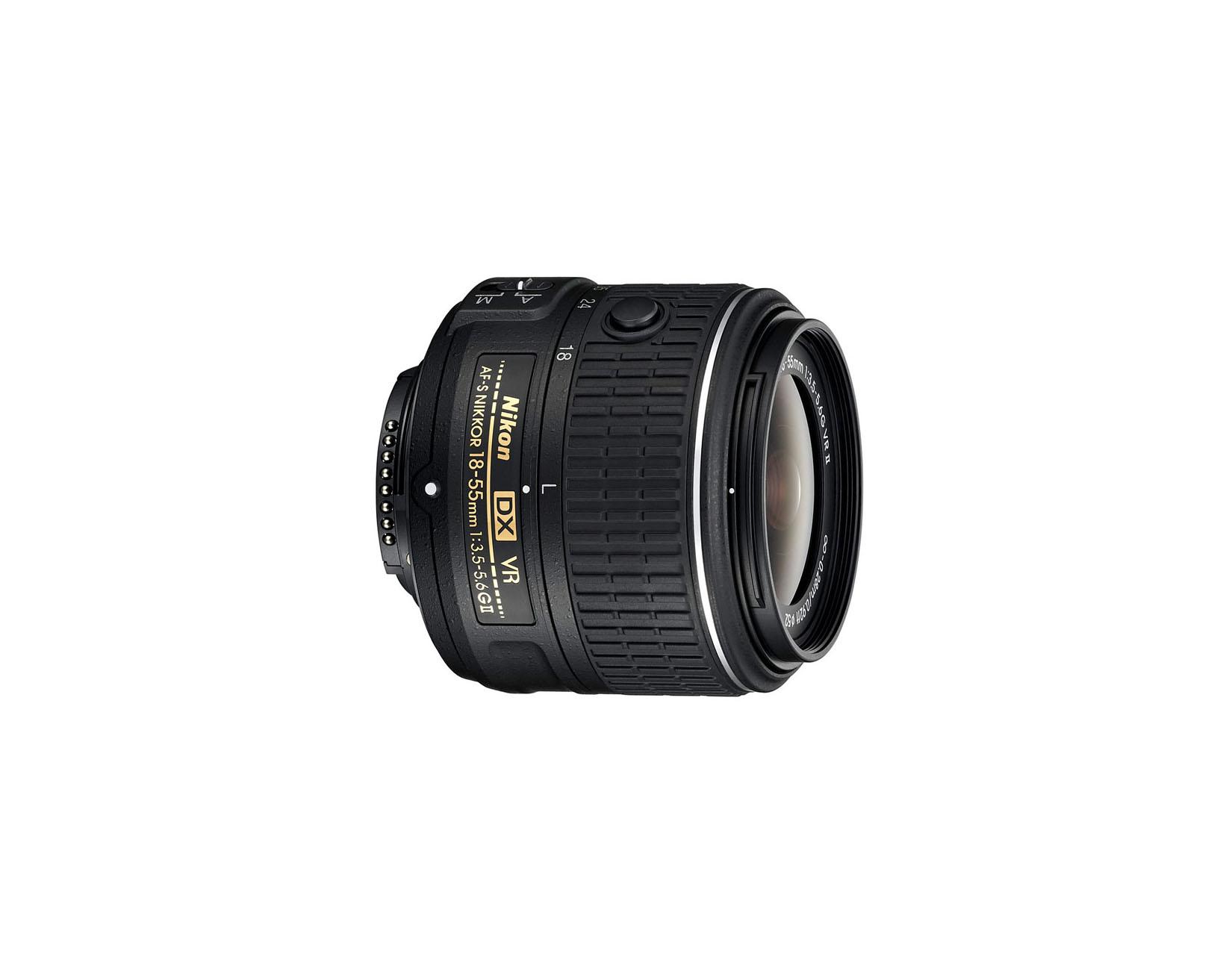 لنز Nikon AF-S DX 18-55mm f/3.5-5.6 G VR II