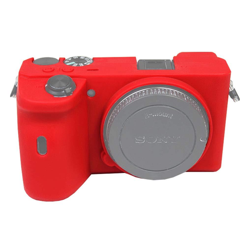 کاور سیلیکونی برای دوربین سونی a6100 (قرمز)