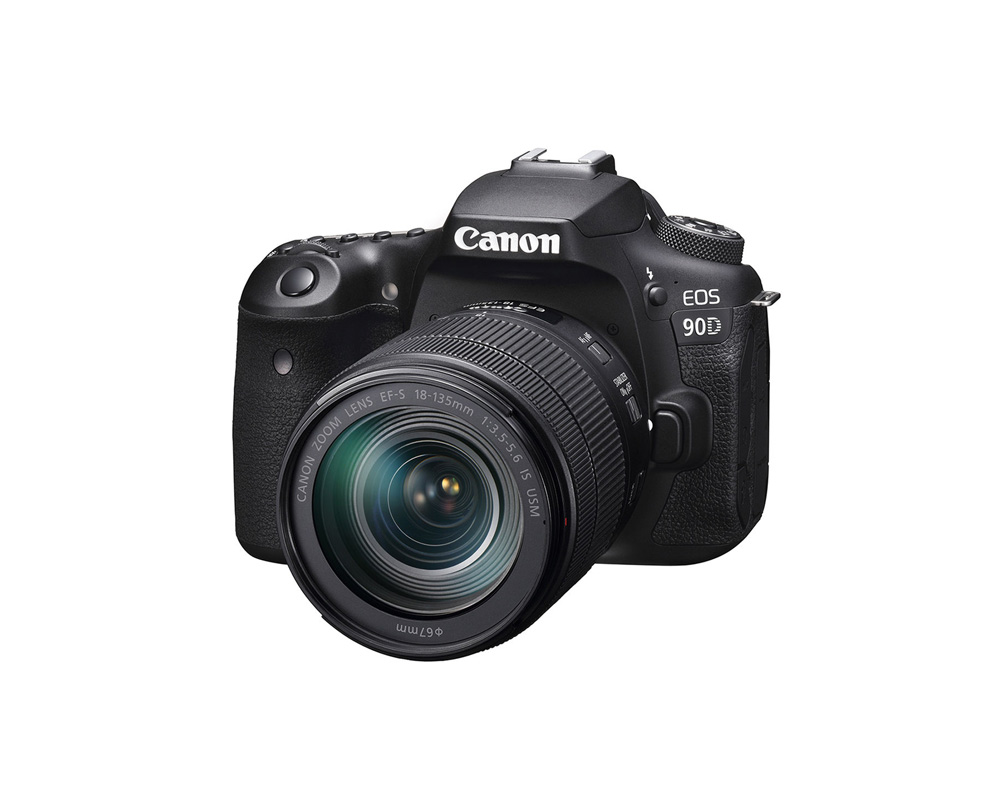 دوربین کانن EOS 90D + 18-135mm IS USM