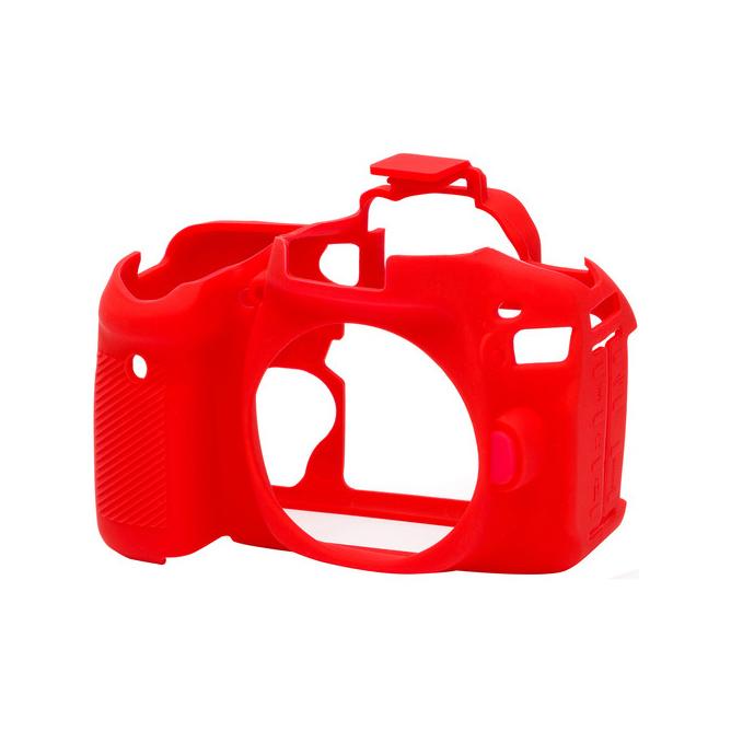 کاور سیلیکونی دوربین کانن EOS 80D (قرمز)