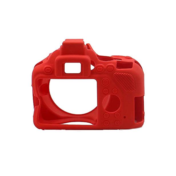 کاور سیلیکونی دوربین Nikon D7200 (قرمز)