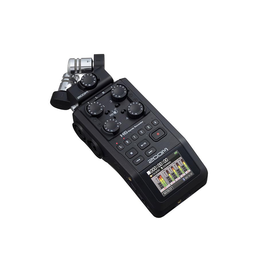 رکوردر صدا Zoom H6 سری BLACK FINISH