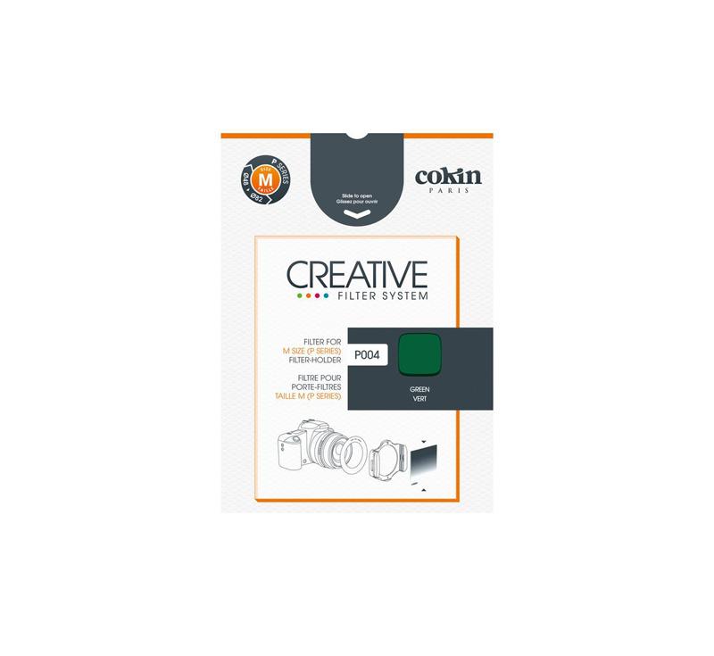 Cokin P004 Green Resin Filter for Black & White Film