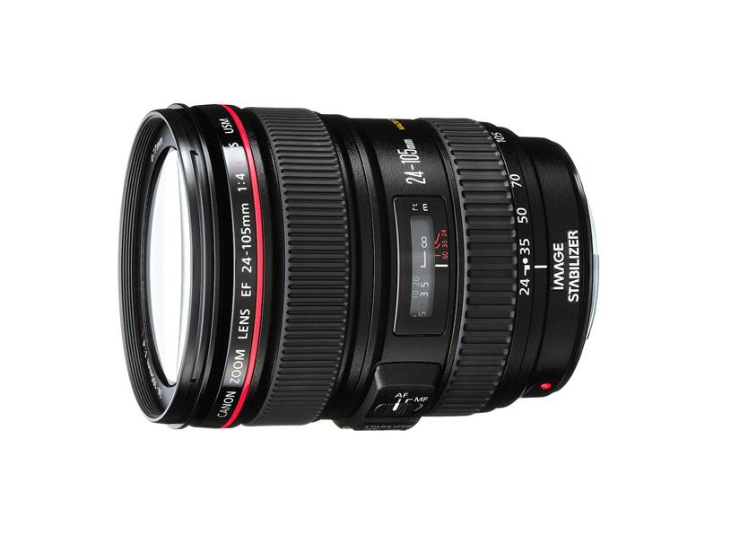 لنز Canon EF 24-105mm f/4 L IS USM (دست دوم)