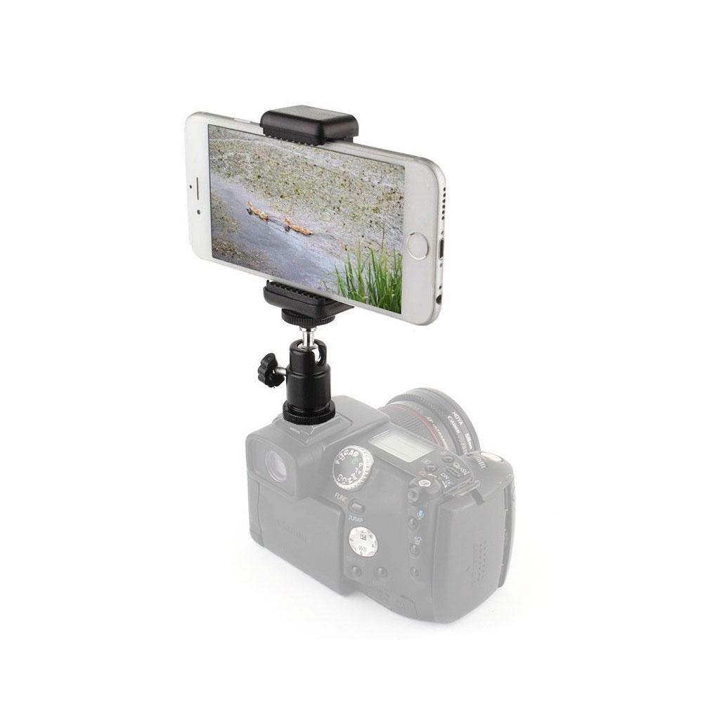 هولدر موبایل روی دوربین (بال هد)