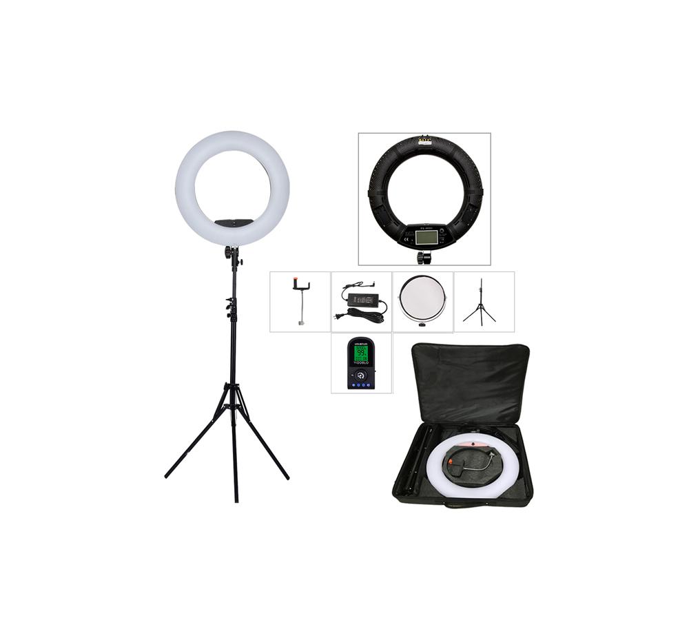رینگ لایت FE-480II (دارای ریموت و LCD و سه پایه و کیف حمل)