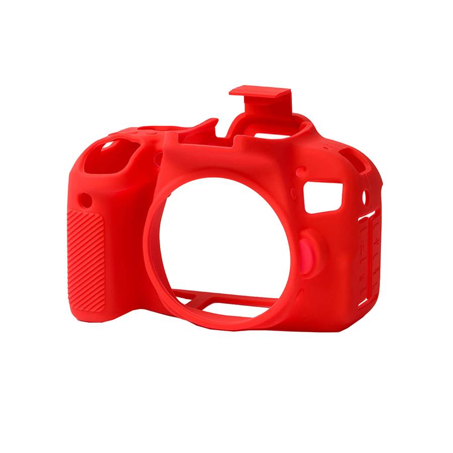 کاور سیلیکونی دوربین کانن EOS 800D (قرمز)