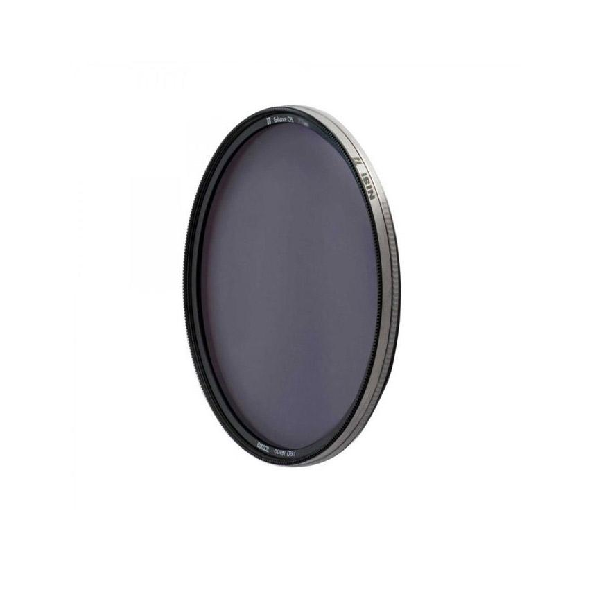 فیلتر پلاریزه NiSi مدل Ti Enhanced CPL 72mm