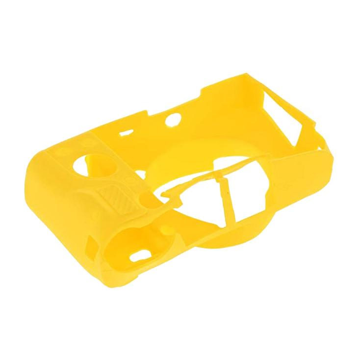 کاور سیلیکونی برای دوربین سونی a6400 (زرد)