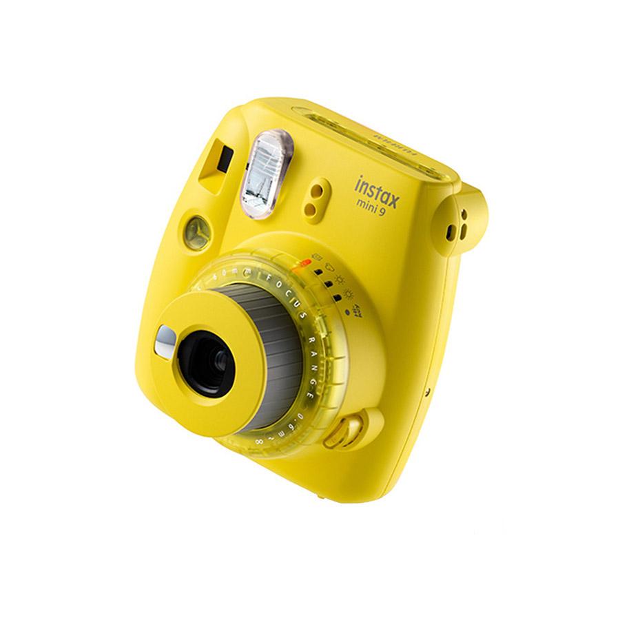 دوربین چاپ سریع فوجی فیلم مدل Instax Mini 9 سری Limited Edition (زرد)