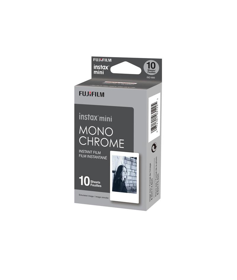 فیلم دوربین سیاه و سفید instax mini طرح Monochrome