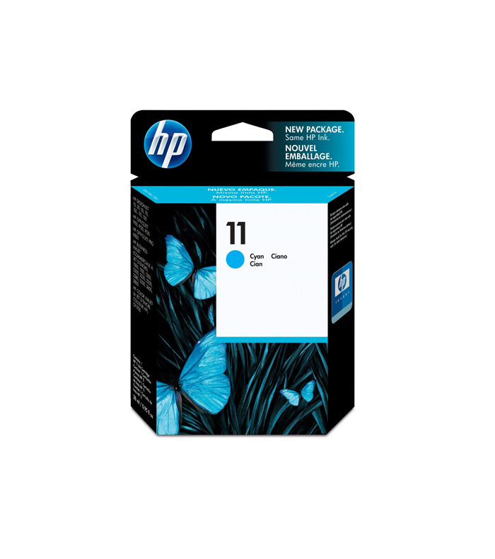 کارتریج هد جوهرافشان آبی اچ پی HP 11