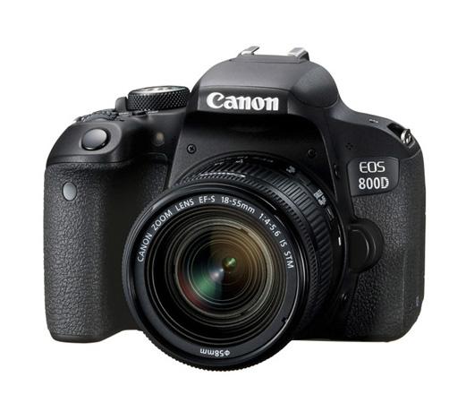 دوربین کانن EOS 800D + 18-55mm IS STM (دست دوم)