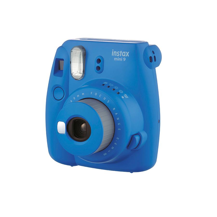 دوربین عکاسی چاپ سریع فوجی Instax Mini 9 (آبی تیره)