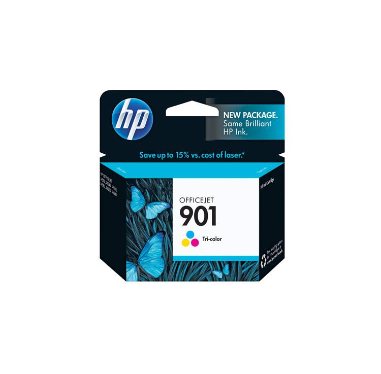 کارتریج جوهرافشان رنگی HP 901 Tri-color