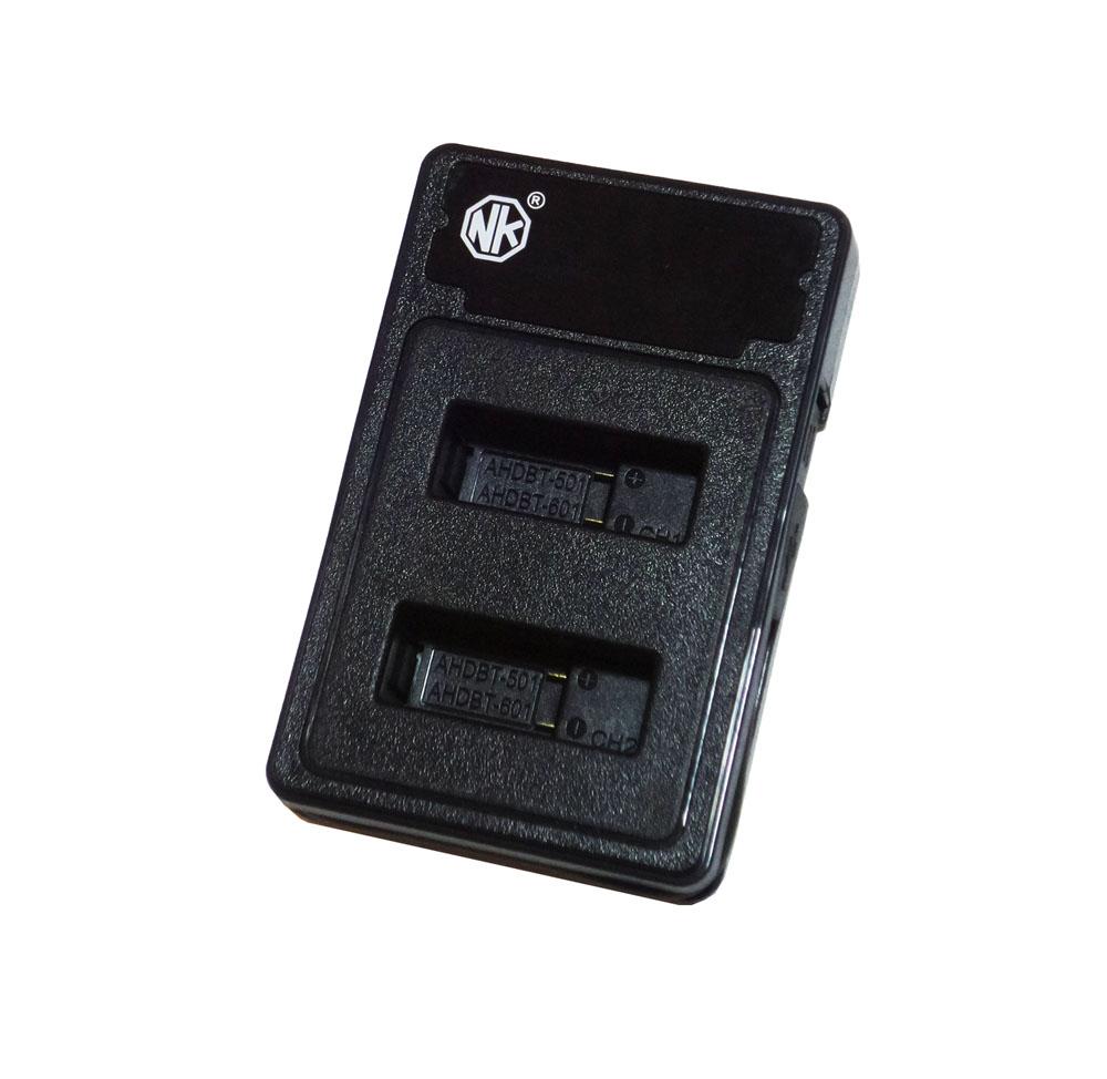 شارژر دوقلوی باتری گوپرو برای باتری های  HERO5 / 6 / 7