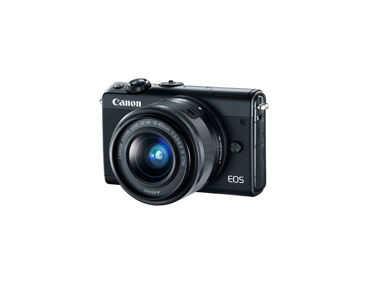 دوربین بدون آینه کانن EOS M100 + 15-45mm (دست دوم)